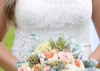 bride bouquet wedding venue