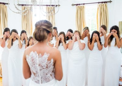 bridal gown reveal