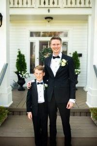 groom & kid