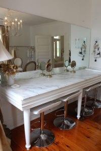 bridal dressing room mirror