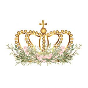 camelot manor flower with logos