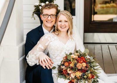 Fall Wedding at Camelot Manor