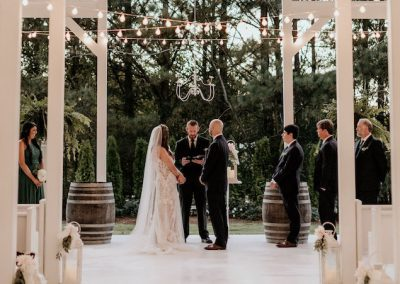 A Shelby County Wedding at Camelot Manor